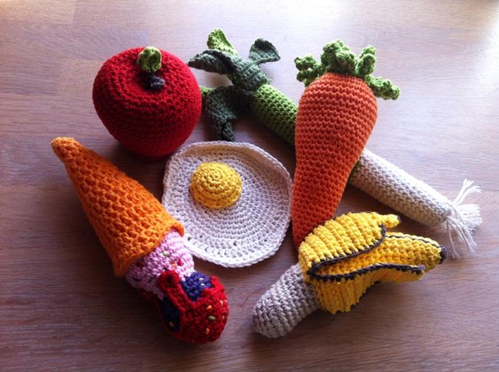 Legetøjsgrøntsager